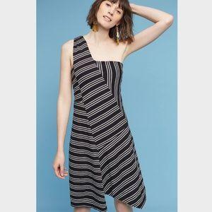 NWT Maeve Moka One-Shoulder Dress